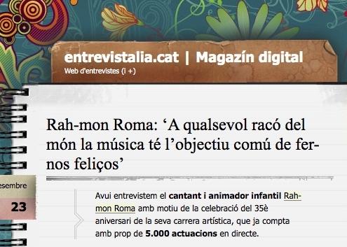 Entrevista Rah-monRoma Entrevistalia